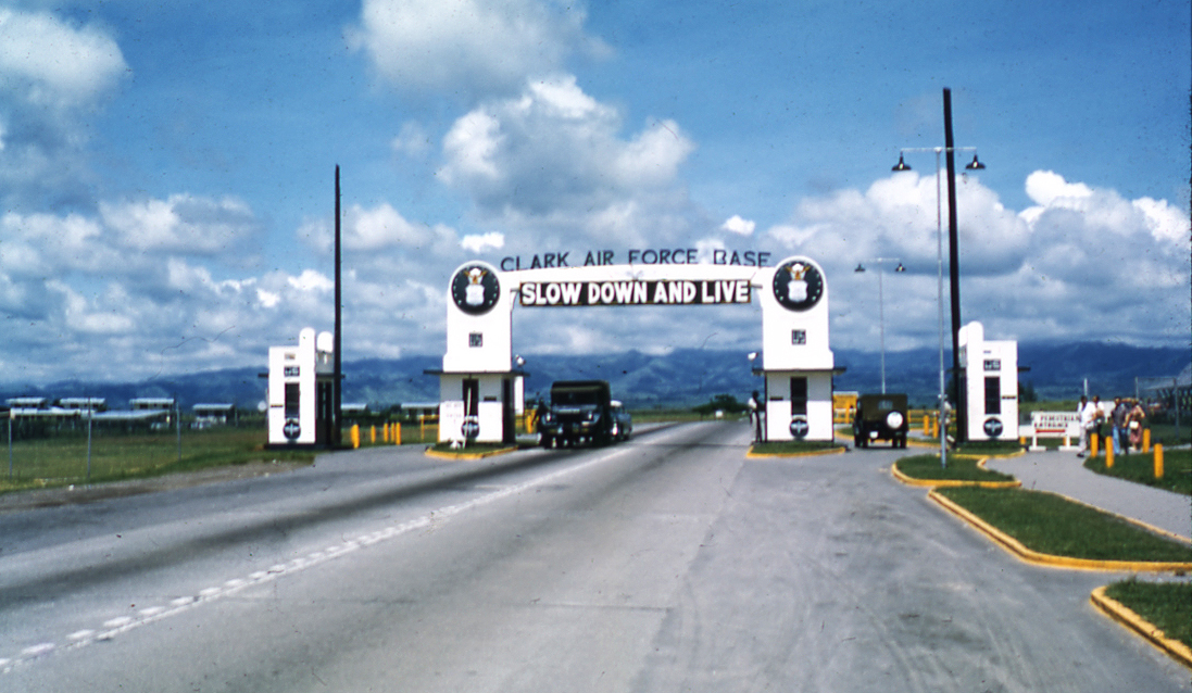 Memories of Clark Airbase in 1959/1960